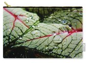 Water On The Leaves Carry-all Pouch
