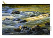 Beautiful Water Reflections On The Flowing Thornapple River Carry-all Pouch