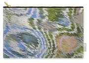 Water Ripples In Blue And Green Carry-all Pouch