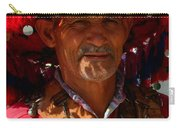 Water Seller Marrakesh Morocco Carry-all Pouch by Ralph A  Ledergerber-Photography
