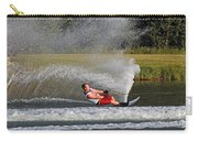 Water Skiing 10 Carry-all Pouch