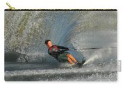 Water Skiing Magic Of Water 13 Carry-all Pouch by Bob Christopher