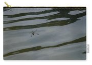 Water Skipper In Digital Oil Pastel Carry-all Pouch