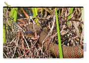 Water Snake In Hiding Carry-all Pouch