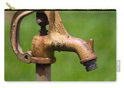 Water Spicket Or Spigot Carry-all Pouch