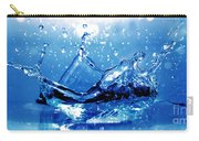 Water Splash Carry-all Pouch by Michal Bednarek