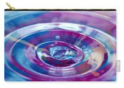 Water Splash Rings Carry-all Pouch