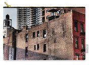 Water Tower With Cityscape Carry-all Pouch