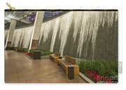 Water Wall - Aria Resort Las Vegas Carry-all Pouch