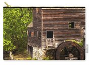 Water Wheel At Philipsburg Manor Mill House Carry-all Pouch