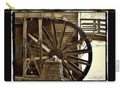 Water Wheel At The Grist Mill Carry-all Pouch