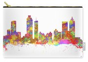 Watercolor Art Print Of The Skyline Of Atlanta Georgia Usa Carry-all Pouch