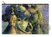 Watercolor Batik Venice Italy Carry-all Pouch