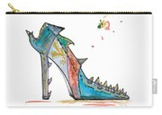 Watercolor Fashion Illustration Art Carry-all Pouch