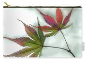 Watercolor Japanese Maple Leaves Carry-all Pouch