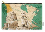 Watercolor Map 2 Carry-all Pouch