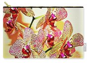 Watercolor Orchid Shadows Carry-all Pouch