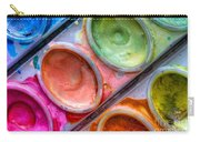 Watercolor Ovals One Carry-all Pouch