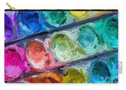 Watercolor Ovals Two Carry-all Pouch