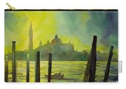 Watercolor Painting Of The Dome Of San Giorgio Maggiore Church I Carry-all Pouch