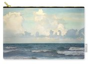 Watercolor Photograph Of Atlantic Ocean Carry-all Pouch
