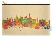 Watercolor Skyline Of Las Vegas Nevada  Usa Carry-all Pouch