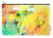 Watercolor Wildflowers - Digital Paint Carry-all Pouch