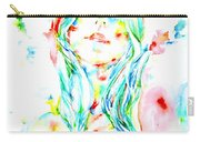 Watercolor Woman.1 Carry-all Pouch