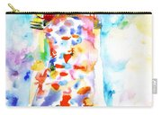 Watercolor Woman.18 Carry-all Pouch