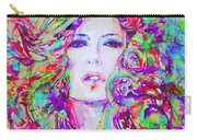 Watercolor Woman.32 Carry-all Pouch