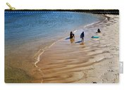 Watercolors At The Beach Carry-all Pouch