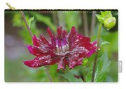 Waterdrops On Petals  Carry-all Pouch
