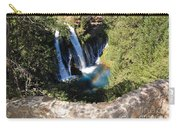 Waterfall And Rainbow 3 Carry-all Pouch