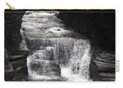 Waterfall And Rocks Carry-all Pouch