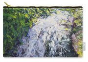 Waterfall At Chicago Botanic Gardens Carry-all Pouch