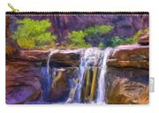 Waterfall At Coyote Creek Carry-all Pouch