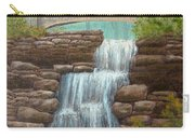 Waterfall At East Hampton Carry-all Pouch