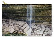 Waterfall At Hamilton Pool Carry-all Pouch by David Morefield