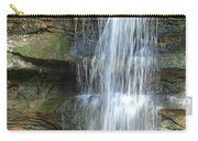 Waterfall At Old Man's Cave Carry-all Pouch
