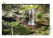 Waterfall At Roughting Linn Carry-all Pouch
