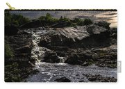 Waterfall At Sunrise Carry-all Pouch by Bob Orsillo