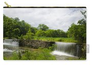 Waterfall At Valley Creek Near Valley Forge Carry-all Pouch