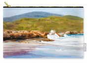 Waterfall Beach Denmark Painting Carry-all Pouch