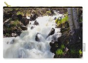 Waterfall By The Aspens Carry-all Pouch