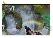 Waterfall Daydream Carry-all Pouch by Alixandra Mullins