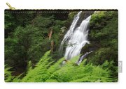 Waterfall Fern Square Carry-all Pouch