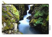 Waterfall, Glacier National Park Carry-all Pouch