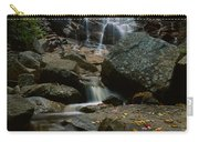 Waterfall In A Forest, Arethusa Falls Carry-all Pouch