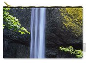 Waterfall In A Forest, Latourell Falls Carry-all Pouch