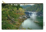 Waterfall In Forest, Cumberland Falls Carry-all Pouch